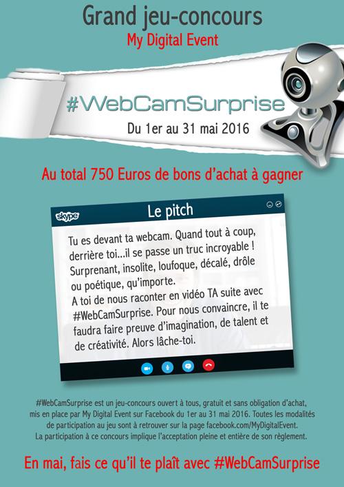 #WebCamSurprise édito