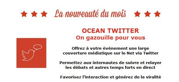 Ocean Twitter - Un concept My Digital Event