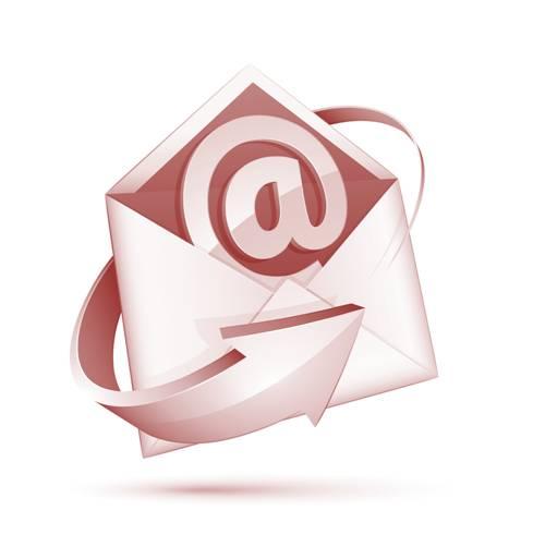 E-mail-concept