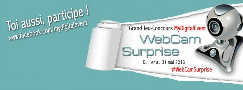 #WebCamSurprise
